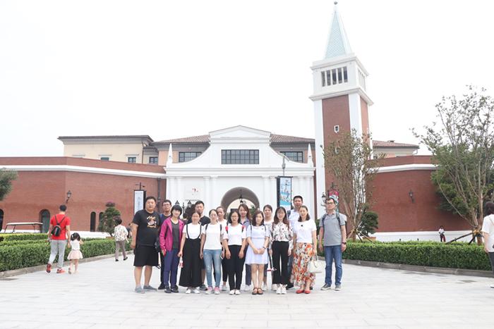 集团活动,抒发感想—游天津佛罗伦萨小镇