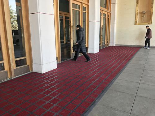酒店门口除尘地垫